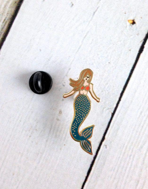 Mermaid Enamel Pin