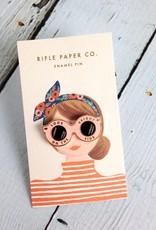 Sunglasses Enamel Pin
