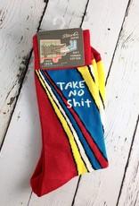Take No Shit Men's Crew Socks