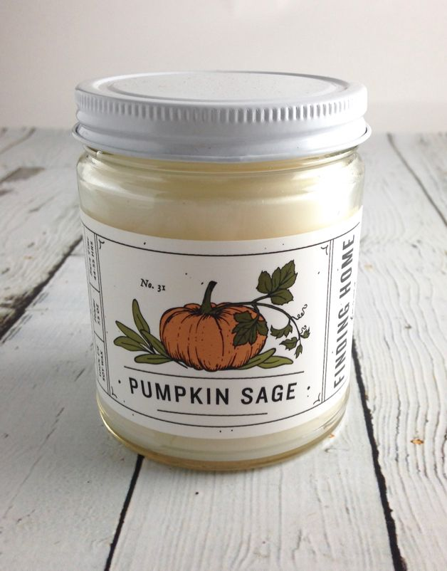 Pumpkin Sage 7.5 oz Candle