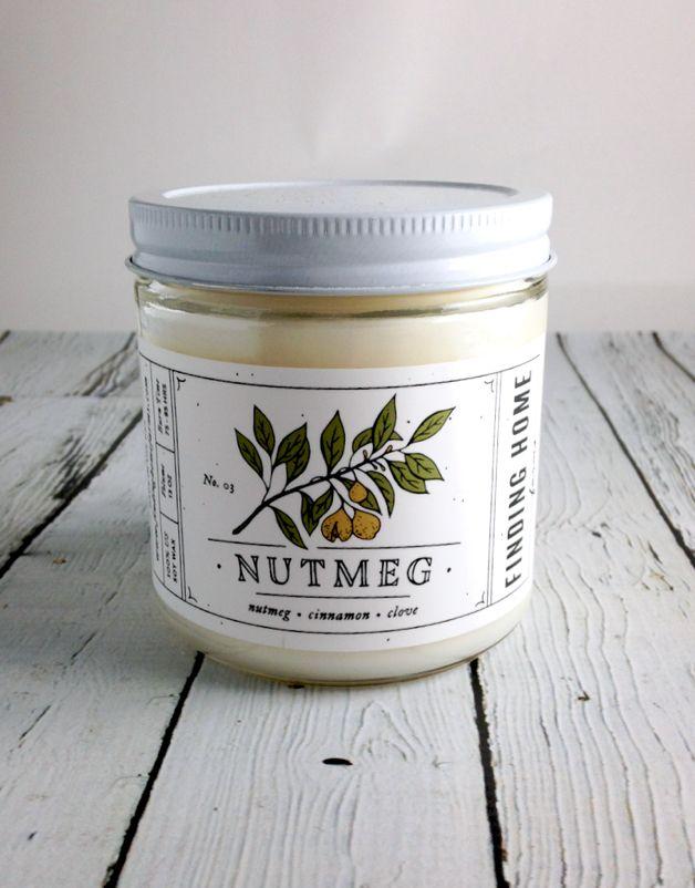 Nutmeg 13oz Candle