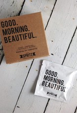 Good Morning Beautiful (Rose, Aloe, Peppermint) Towelette 7 Day Box