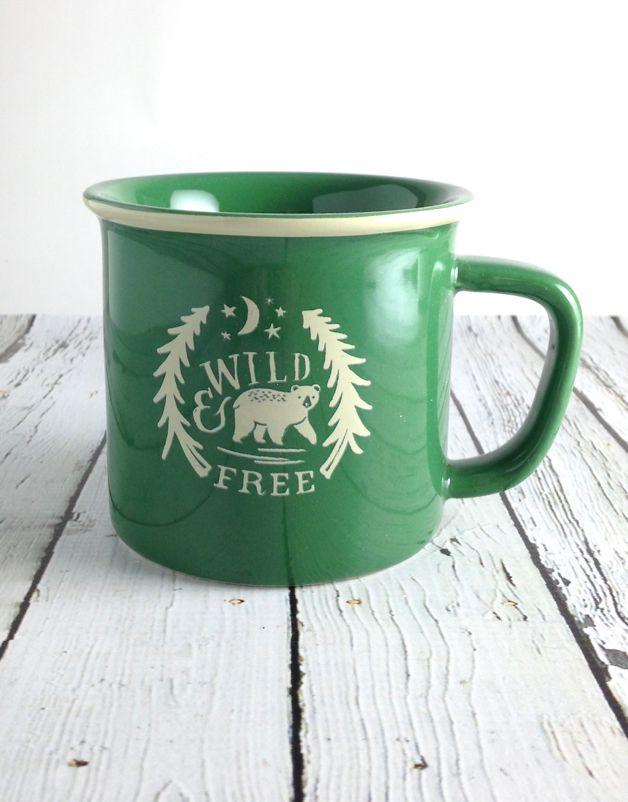 Wild and Free Heritage Mug