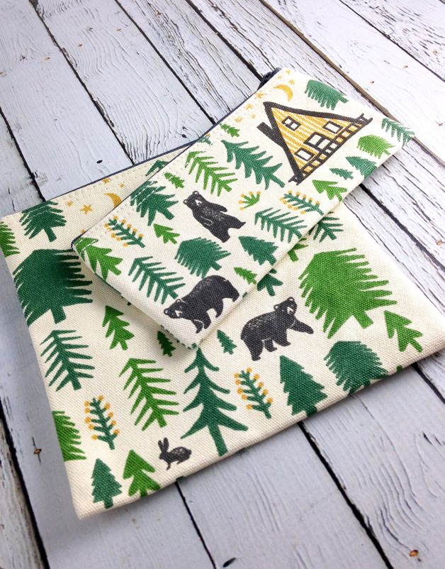 Wild and Free Snack Bags Set/2
