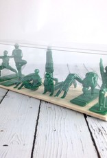 Yoga*Joes Boxed Set of 9 Yoga Joes, Green