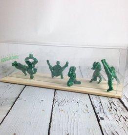 Yoga*Joes Boxed Set of 9 ADVANCED Yoga Joes, Green