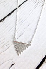 Sterling Silver Chimes Necklace
