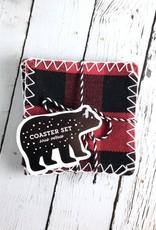 Buffalo Check Plaid Coasters