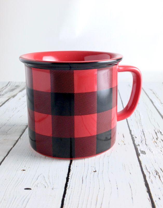 Buffalo Check heritage Mug