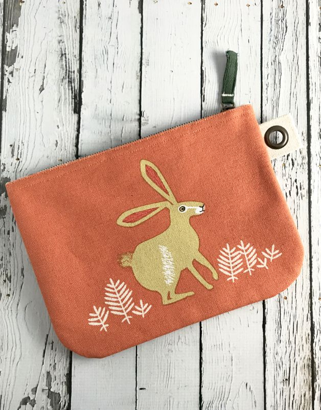 Hill and Dale Large Zip Pouch