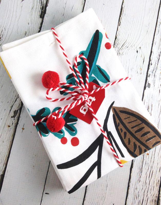 Ho Ho Ho Ornament Dishtowel Set/2