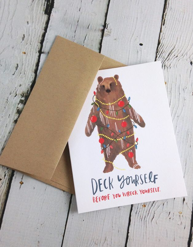 Deck Yourself Holiday Boxed Cards