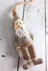 Wood Gnome Ornament