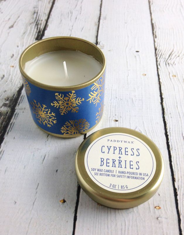 Cypress + Berries 3 oz Candle