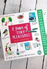 Year of Tiny Pleasures 2018 Daily Desk Calendar