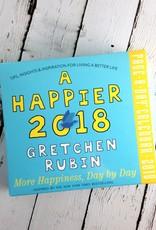 A Happier 2018 Daily Desk Calendar