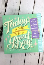 Today is going to be a Great Day 2018 Daily Desk Calendar