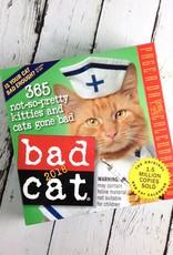 2018 Bad Cat Daily Desk Calendar