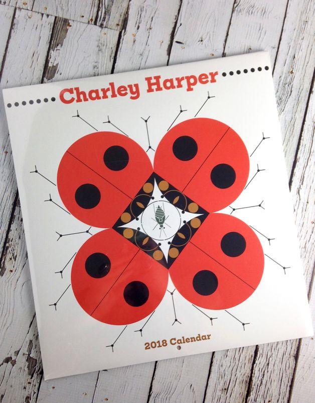 2018 Charley Harper Wall Calendar