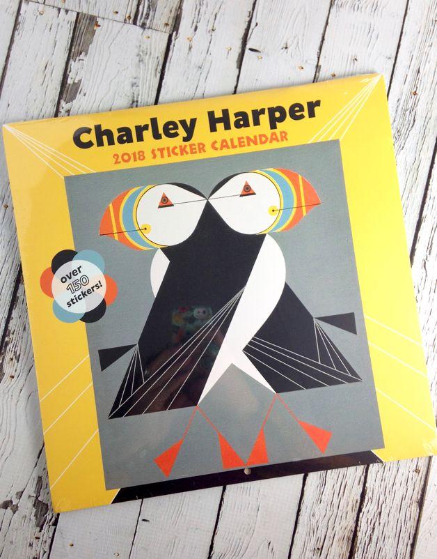 2018 Charley Harper Sticker Calendar