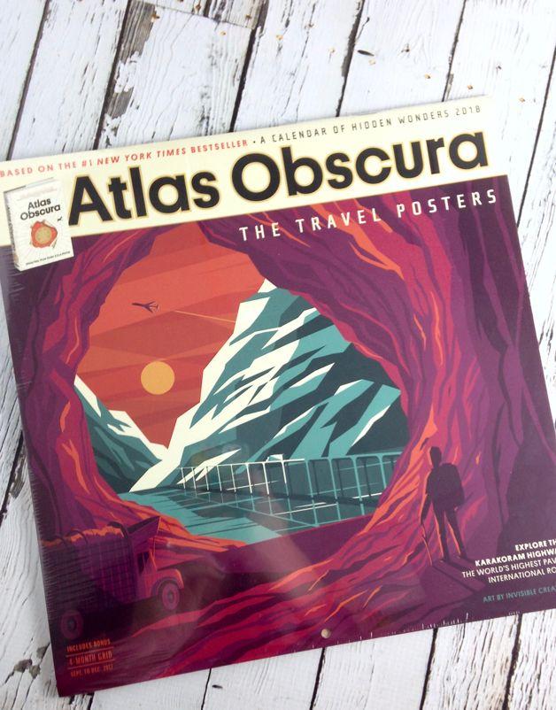 Atlas Obscura 2018 Wall Calendar