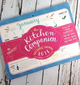 The Kitchen Companion Page a Week 2018 Calendar