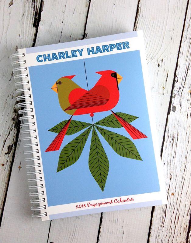 2018 Charley Harper Engagement Calendar