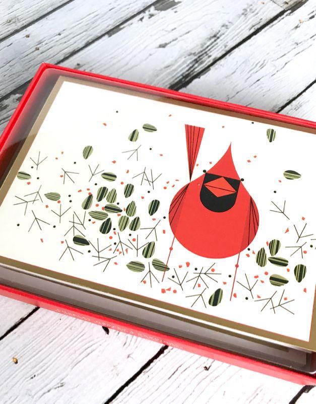 Charley Harper Boxed Holiday Cards: Cardinal