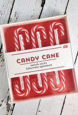 Candy Cane Swizzle Sticks