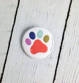 Each pin sold raises $2 for The HSUS' Stop Puppy Mills campaign. Artwork by Indy Illustrator, Penelope Dullaghan.