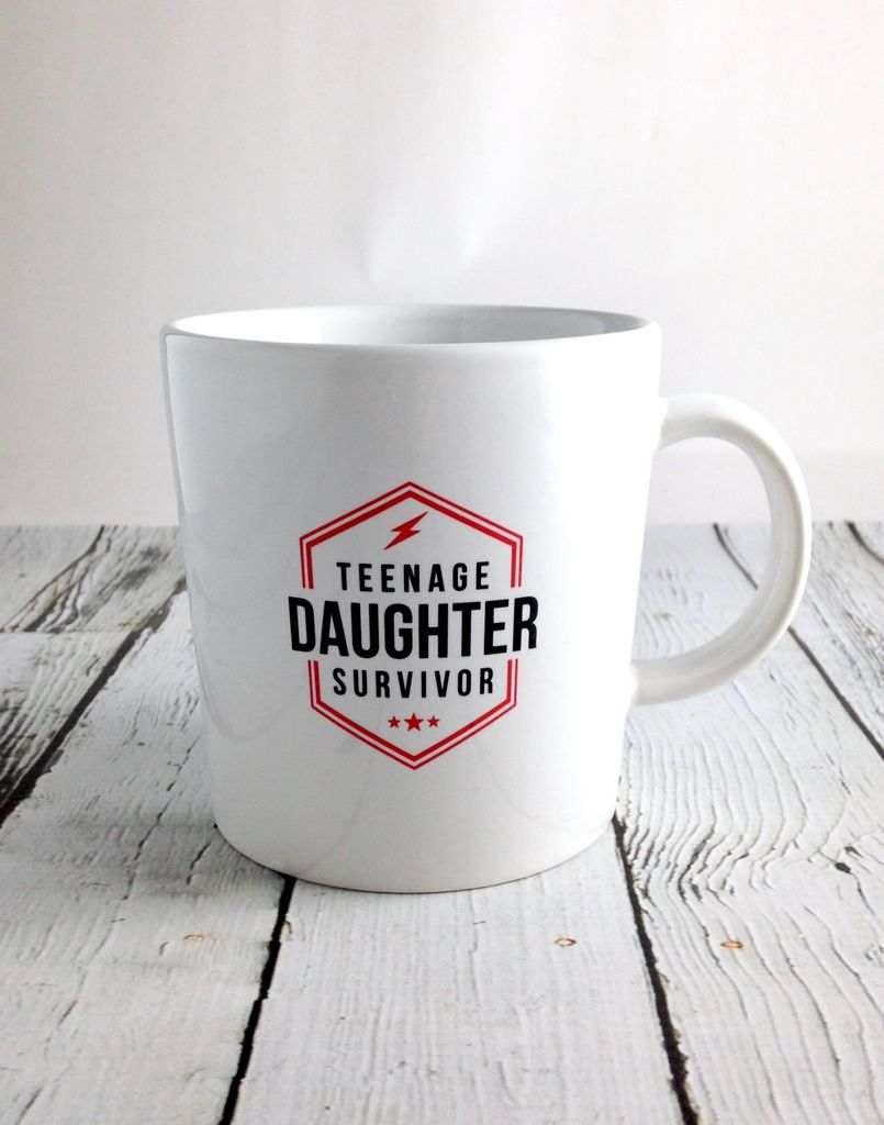 Teenage Daughter Survivor Ceramic Mug