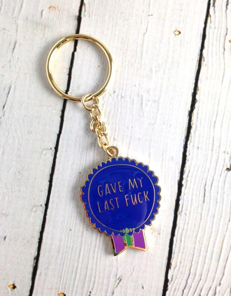 Gave My Last Fuck Keychain