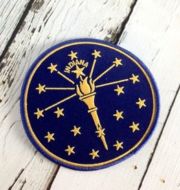 Torch and Stars Patch