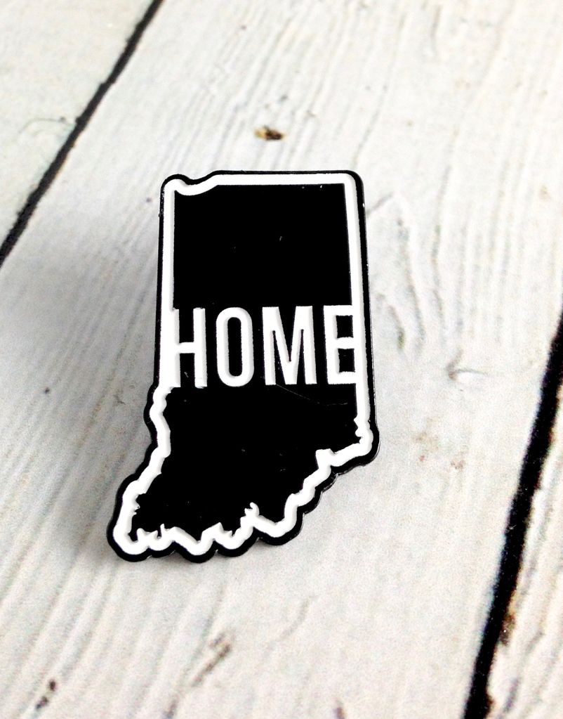 Home Enamel Pin