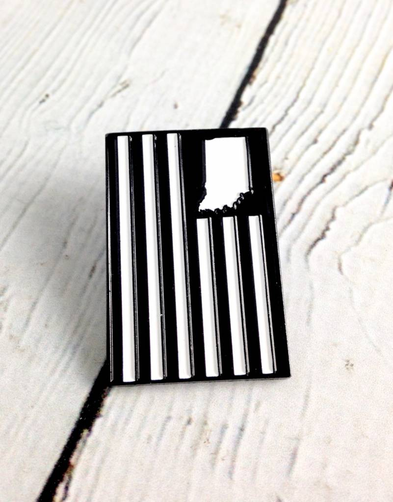 USI Flag Enamel Pin