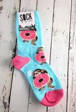 Snackin' Sloth Women's Crew Socks