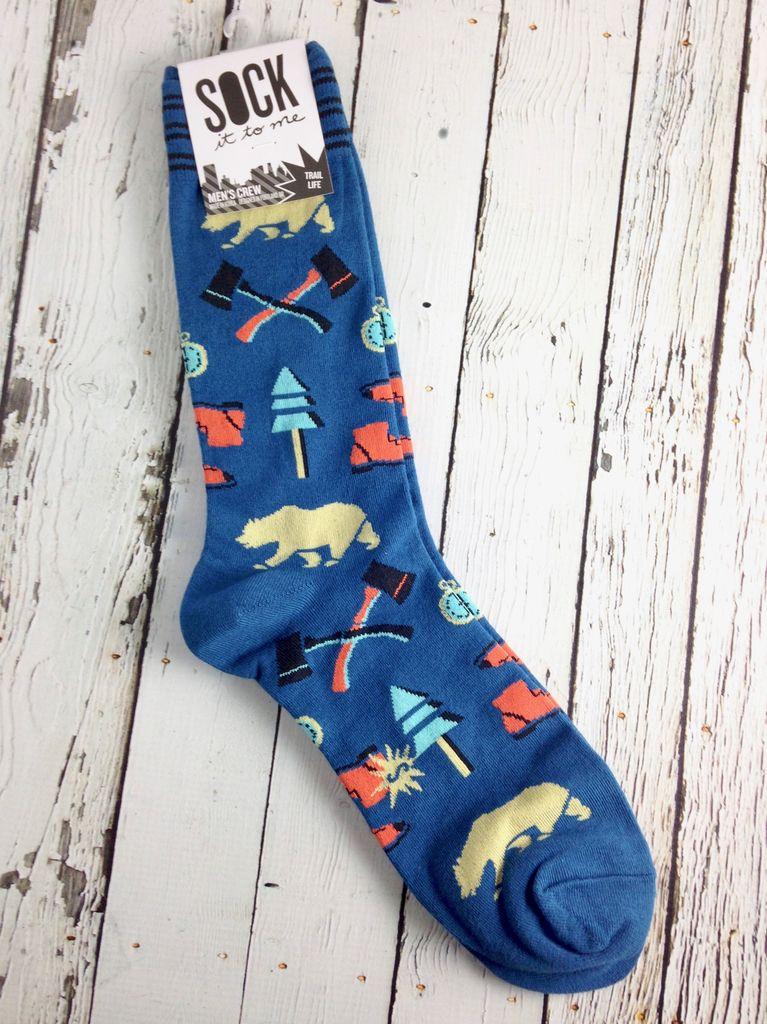 Trail Life Men's Crew Socks
