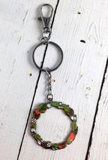 Wreath Keychain
