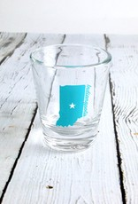 Indianapolis Star Shot Glass