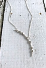 Handmade Bend the Rules Crystal Arc Necklace