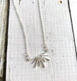 Handmade Radiant Rays Charm Necklace