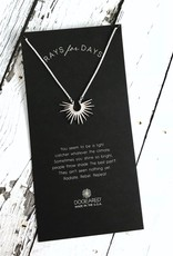Handmade Medium Radiant Rays Necklace