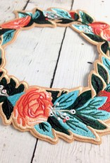 Wreath II Iron On Patch