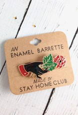 Offering Enamel Hair Barrette