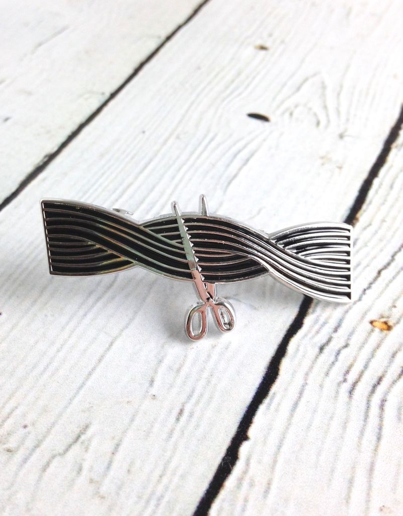 Tangle Enamel Hair Barrette