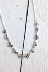 Sterling Silver and Marcasite Necklace