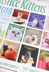 Social Justice Kittens 2018 Wall Calendar
