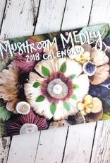 Jill Bliss Mushroom Medley 2018 Calendar