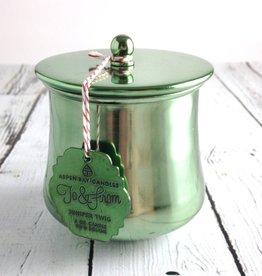 6 oz Juniper Twig Holiday Tin