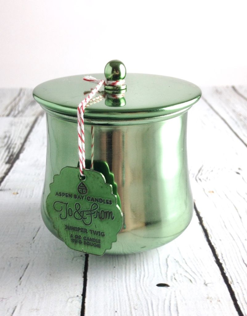 6 oz Juniper Twig Holiday Tin